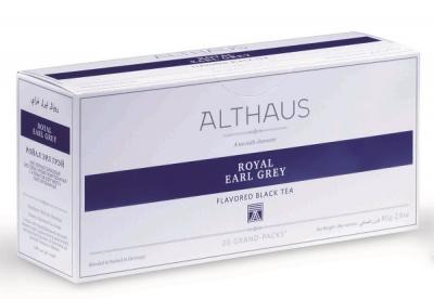 Чай черный Аlthaus (Альтхаус)Роял Эрл Грей пакетированный для чайника