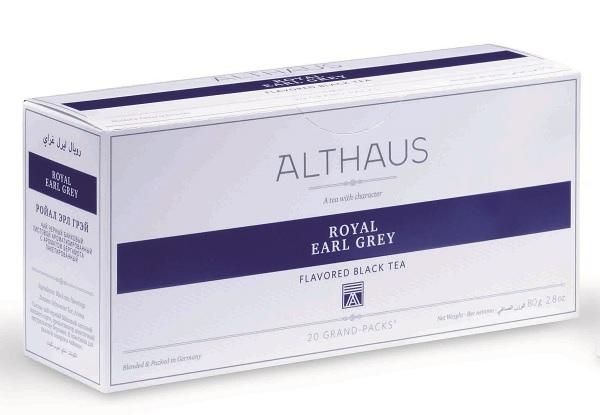 Чай черный Аlthaus (Альтхаус) Роял Эрл Грей пакетированный для чайника