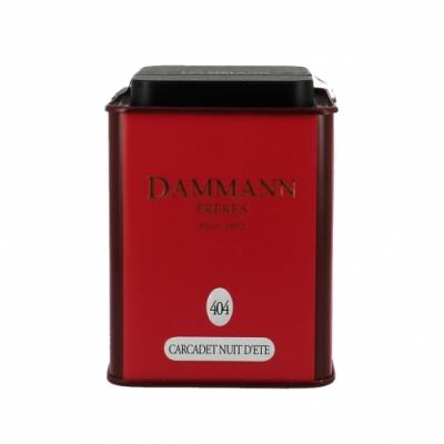 Чай на основе трав и фруктов Dammann Nuit d'ete (Дамманн Летняя ночь) в  жестяной банке 100 гр.
