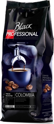 Кофе в зёрнах Black Professional Colombia 1 кг