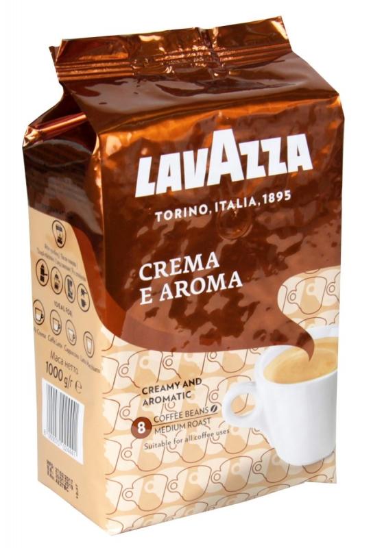 Кофе Lavazza Crema e Aroma в зернах 1 кг - купить в интернет магазине MugDuo