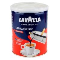 Кофе молотый Lavazza Crema Gusto жестяная банка 250 г