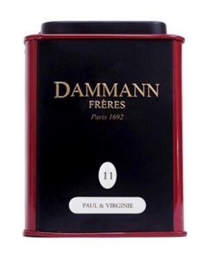 Чай черный Dammann The Paul Et Virginie (Дамман Поль И Вирджиния) листовой в жестяной банке 30 гр