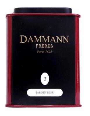 Чай черный Damann The Jardin Bleu (Дамман Голубой Сад) в жестяной банке 30 гр