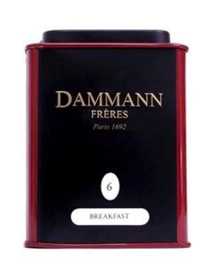 Чай черный Dammann The Breakfast (Дамман Завтрак) листовой в жестяной банке 30 гр