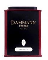 Чай черный Dammann Сeylon O.P. (Даманн Цейлон) листовой в жестяной банке 30 гр