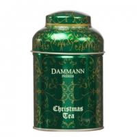 Чай ароматны Рождественский  Dammann (Christmas Tea Vert) в жестянной банке 100гр.