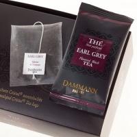 Чай черный Dammann Эрл Грей в шелковых пакетиках 24шт.