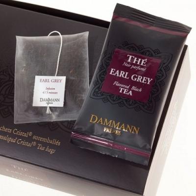"""Чай черный Dammann """"Эрл Грей"""" в шелковых пакетиках 24 шт."""