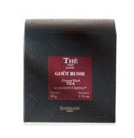 Чай черный Русский вкус Dammann Gout Russe в пакетиках 25шт.
