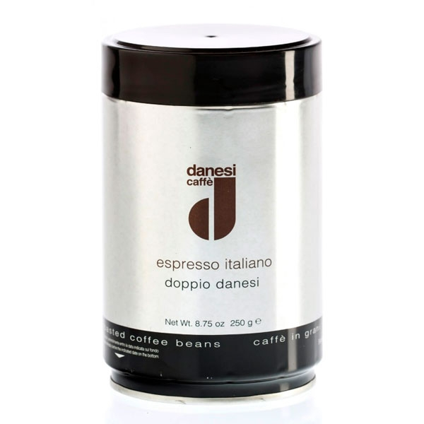Кофе в зернах Danesi Doppio (Данези Доппио) 250 гр