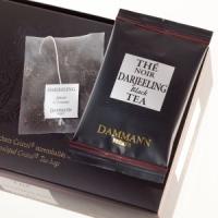 Чай черный Дарджилинг Dammann в шелковых пакетиках 24 шт.