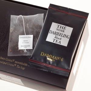 """Чай черный """"Дарджилинг"""" Dammann в шелковых пакетиках 24 шт."""