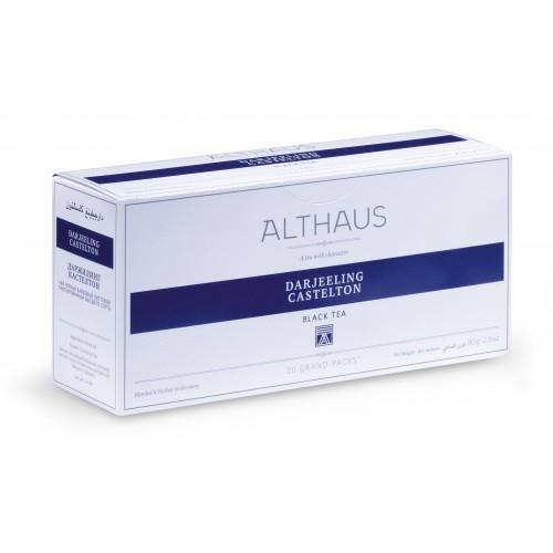 """Чай черный Althaus (Альтхаус)""""Дарджилинг Кастелтон"""" пакетированный для чайника"""