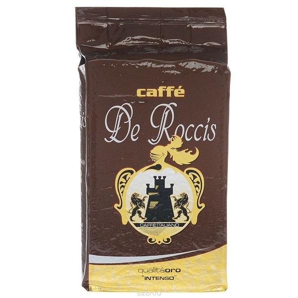 Кофе молотый De Roccis Oro( Де Роччис ОРО) 250 гр