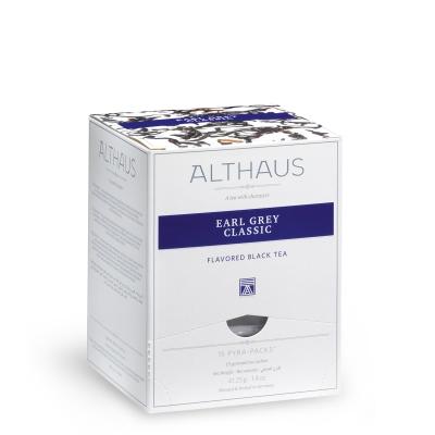 Чай черный Althaus Эрл Грей Классик в пирамидках