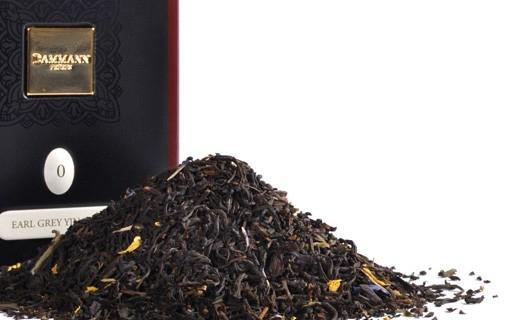 Чай черный Dammann Earl Grey Yin Zhen (Дамманн Эрл Грей Инь Жень) листовой в жестяной банке 100 гр.