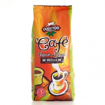 Кофе в зернах Oquendo El Cafe Mezcla (Окендо Эль Кафэ Мескла) 1 кг