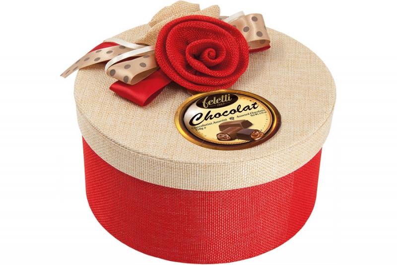 """Конфеты Feletti """"Elodie"""" Ассорти шоколадных пралине 250 г"""
