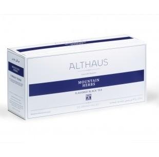 Чай черный с чабрецом Althaus (Альтхаус) Горные травы пакетированный для чайника