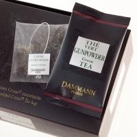 """Чай зеленый """"Порох"""" Dammann в шелковых пакетиках 24 шт."""