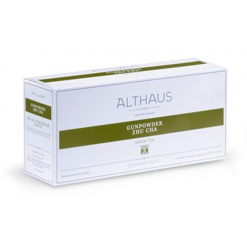 """Чай зеленый Althaus (Альтхаус) """"Жу Ча Ружейный порох"""" пакетированный для чайника"""