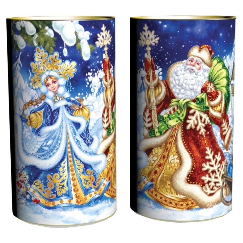 """Подарок Новогодний """"Дед Мороз и Снегурка"""" 600 г"""
