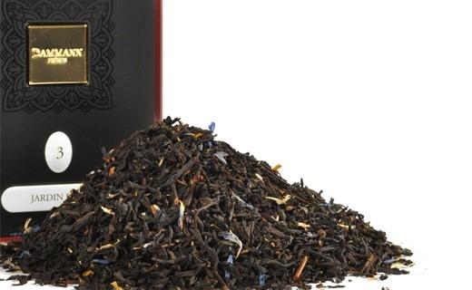 Чай черный Damann The Jardin Bleu (Дамман Голубой сад) в  жестяной банке 100 гр.