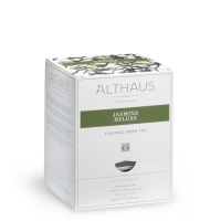 Чай зеленый Althaus Жасмин Делюкс в пирамидках