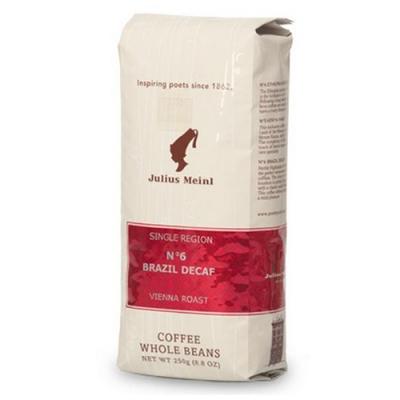 Кофе в зернах Julius Meinl Single Region №6 Brazil Decaf (Юлиус Майнл Бразилия Декаф) 250 г