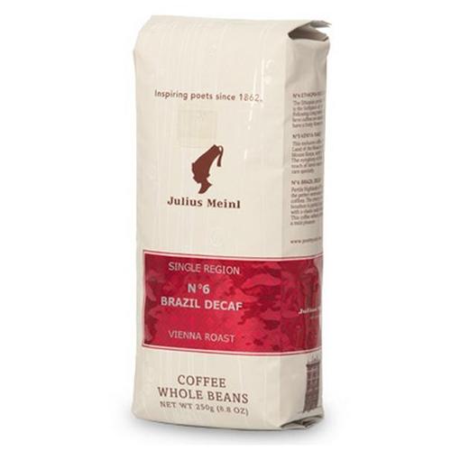 Кофе Julius Meinl Бразилия Декаф №6 в зернах 250 г