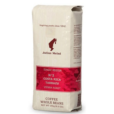 Кофе в зернах Julius Meinl Single Region №2 Costa Rica Tarrazu (Юлиус Майнл Коста Рика Таррацу) 250 г