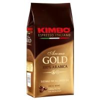 Кофе в зернах Kimbo Aroma Gold 100% Arabica (Кимбо Арома Голд Арабика) 1 кг