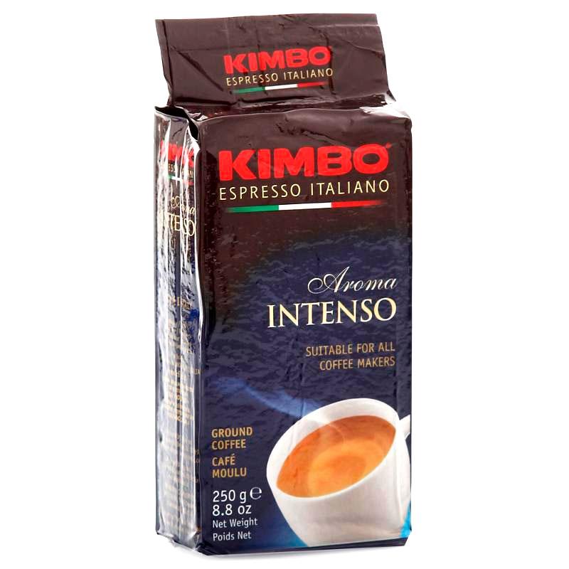 Кофе молотый Kimbo Aroma Intenso (Кимбо Арома Интенсо) 250 гр