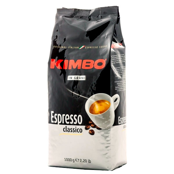 Кофе в зернах Kimbo Grani Espresso Classico (Кимбо Грани Эспрессо Классик) 1 кг