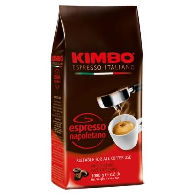 Кофе в зернах Kimbo Espresso Napoletano (Кимбо Эспрессо Наполетано) 1 кг