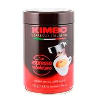Кофе молотый Kimbo Espresso Napoletano (Кимбо Эспрессо Наполетано) в банке 250гр