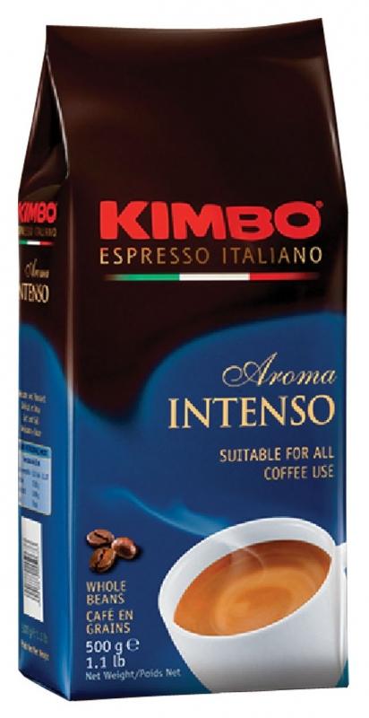 Кофе в зернах Kimbo Aroma Intenso (Кимбо Арома Интенсо) 500 гр