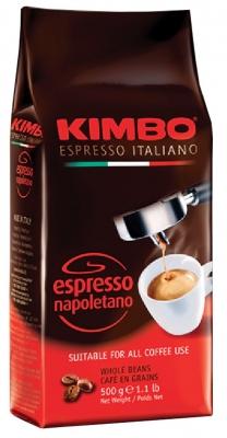 Кофе в зернах Kimbo Espresso Napoletano (Кимбо Эспрессо Наполетано) 500 гр