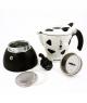 Гейзерная кофеварка Bialetti Mukka Express (Биалетти Мукка Экспресс) для капучино на 2 чашки 220 мл