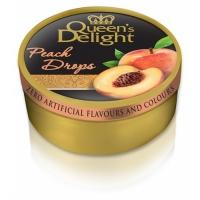 Леденцы Queen's Delight Персик 150грамм