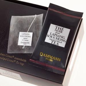 """Чай черный """"Лапсан Сушонг"""" Damann Lapsang Souchong листовой в шелковых пакетиках 24 шт."""