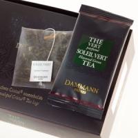 Чай зеленый Зеленое солнце Dammann The Vert Melang Soleil Vert листовой в шелковых пакетиках 24 шт.