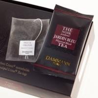 """Чай черный """"Голубой Сад"""" Dammann Jardin Bleu листовой в шелковых пакетике 24 шт."""