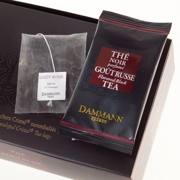 Чай черный Русский вкус Dammann в пакетиках 24 шт.
