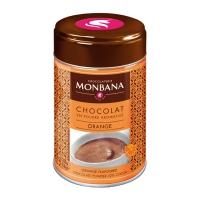 """Горячий шоколад в жестяной банке Monbana """"Апельсин"""""""