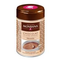 Горячий шоколад в жестяной банке Monbana Тирамису