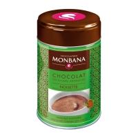 """Горячий шоколад в жестяной банке Monbana """"Фундук"""""""
