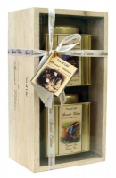 Подарочный набор чая Tea of Life Органический 2 банки в деревянной коробке
