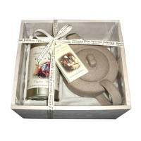 Подарочный набор листового черного чая Tea of Life с чайником
